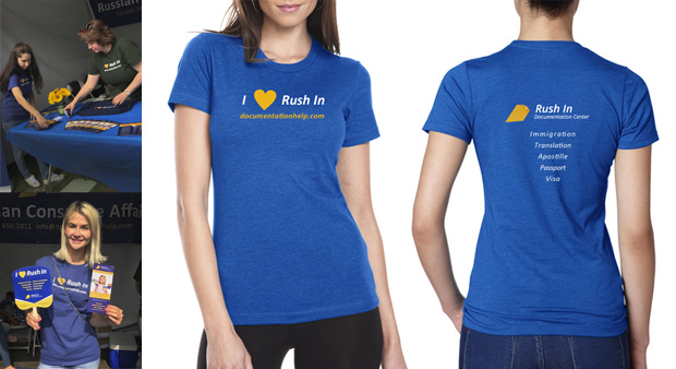 Rush In Documentation t-shirts